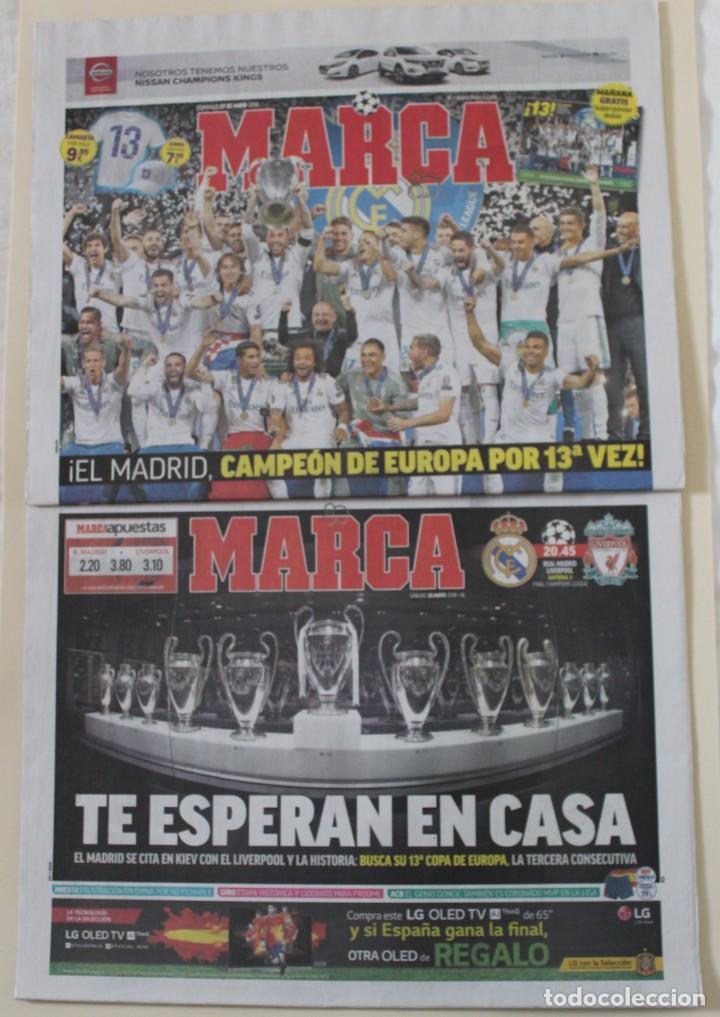 DIARIO MARCA. 27/05/2018. REAL MADRID DÉCIMATERCERA CHAMPIONS LEAGUE (2018) (Coleccionismo Deportivo - Revistas y Periódicos - Marca)