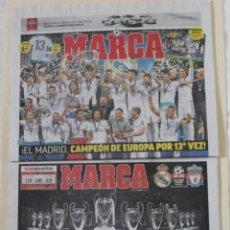 Coleccionismo deportivo: DIARIO MARCA. 27/05/2018. REAL MADRID DÉCIMATERCERA CHAMPIONS LEAGUE (2018). Lote 219496122