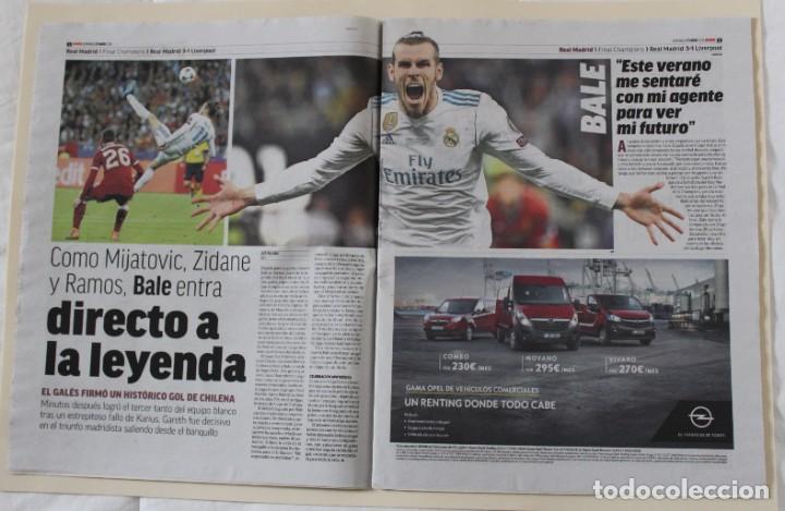 Coleccionismo deportivo: DIARIO MARCA. 27/05/2018. REAL MADRID DÉCIMATERCERA CHAMPIONS LEAGUE (2018) - Foto 7 - 219496122