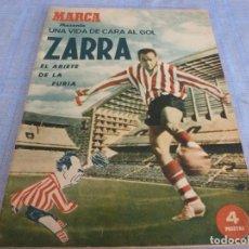 Coleccionismo deportivo: MARCA-ESPECIAL BIOGRAFIA DE TELMO ZARRA (ATH.CLUB DE BILBAO). Lote 272326628