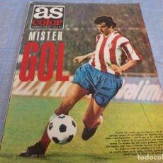 Coleccionismo deportivo: AS COLOR 189(31-12-74) GARATE,ATH.BILBAO 1 REAL MADRID 0,AT.MADRID 4 LAS PALMAS 0-POSTER BETIS 74-75. Lote 272333538