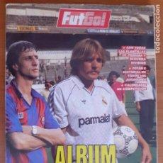 Collectionnisme sportif: REVISTA FUTGOL. ALBUM DE LA LIGA 88 - 89. 1988 - 1989. Lote 273348118