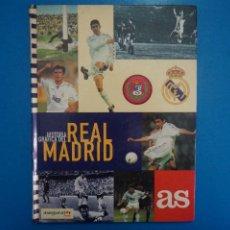 Coleccionismo deportivo: LIBRO ALBUM VACIO DE FUTBOL HISTORIA GRAFICA DEL REAL MADRID AÑO 1997 DE DIARIO AS. Lote 274191833