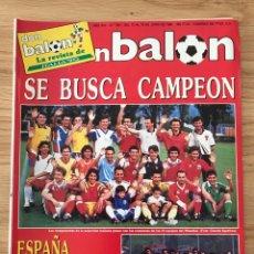 Coleccionismo deportivo: FÚTBOL DON BALÓN 764 - ESPECIAL ITALIA 90 - ESPAÑA - SELECCIÓN ESPAÑOLA - BARESI - SÓCRATES SEVILLA. Lote 274659898