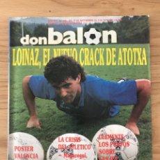 Coleccionismo deportivo: FÚTBOL DON BALÓN 676 - POSTER VALENCIA - MADRID - ATLÉTICO - R. SOCIEDAD - MILÁN - CRUYFF SUPERCOP. Lote 274842188