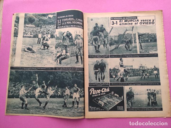 Coleccionismo deportivo: PERIODICO MARCA Nº 78 1944 COPA GRANADA ELIMINA AL REAL MADRID - MURCIA - ALICANTE - SEVILLA - Foto 3 - 275130443