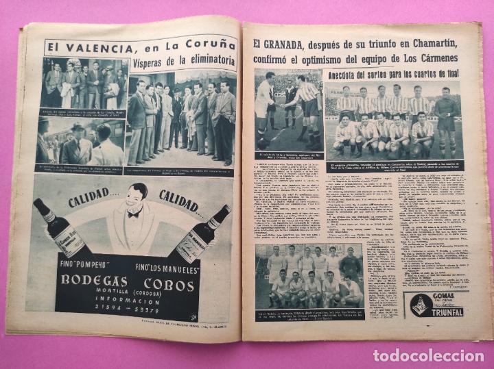 Coleccionismo deportivo: PERIODICO MARCA Nº 78 1944 COPA GRANADA ELIMINA AL REAL MADRID - MURCIA - ALICANTE - SEVILLA - Foto 4 - 275130443