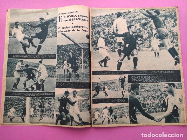 Coleccionismo deportivo: PERIODICO MARCA Nº 78 1944 COPA GRANADA ELIMINA AL REAL MADRID - MURCIA - ALICANTE - SEVILLA - Foto 5 - 275130443