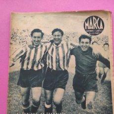 Coleccionismo deportivo: PERIODICO MARCA Nº 78 1944 COPA GRANADA ELIMINA AL REAL MADRID - MURCIA - ALICANTE - SEVILLA. Lote 275130443