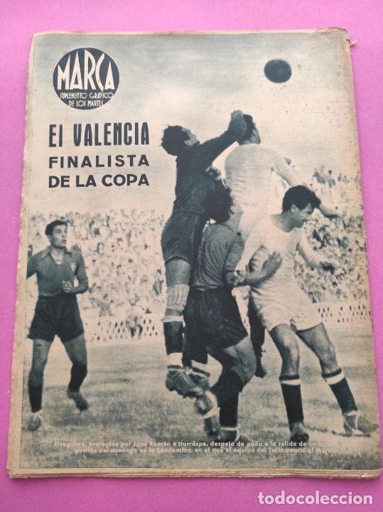 Coleccionismo deportivo: PERIODICO MARCA Nº 821944 COPA AT. AVIACION-ATHLETIC - RACING 5-4 MADRID - VALENCIA MURCIA - FERROL - Foto 6 - 275131293