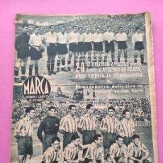 Coleccionismo deportivo: PERIODICO MARCA Nº 821944 COPA AT. AVIACION-ATHLETIC - RACING 5-4 MADRID - VALENCIA MURCIA - FERROL. Lote 275131293