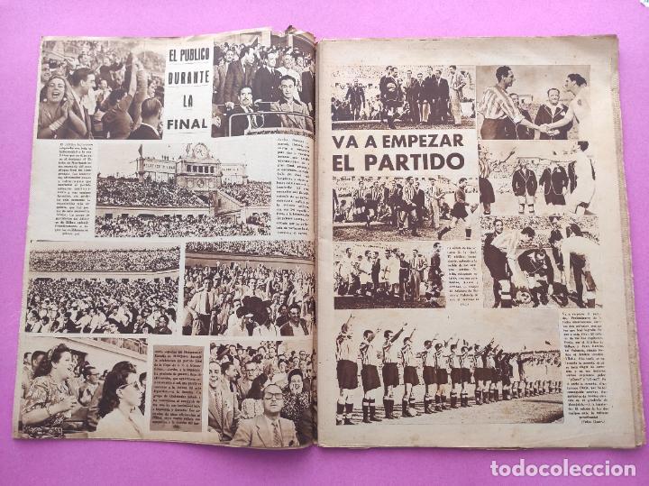 Coleccionismo deportivo: PERIODICO MARCA Nº 83 ATHLETIC CLUB BILBAO CAMPEON COPA GENERALISIMO 43/44 - VALENCIA 1943/1944 - Foto 3 - 275131583