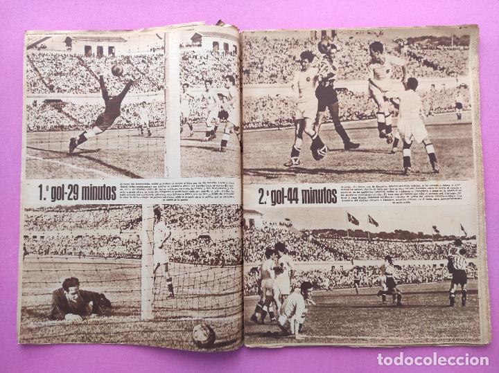 Coleccionismo deportivo: PERIODICO MARCA Nº 83 ATHLETIC CLUB BILBAO CAMPEON COPA GENERALISIMO 43/44 - VALENCIA 1943/1944 - Foto 4 - 275131583