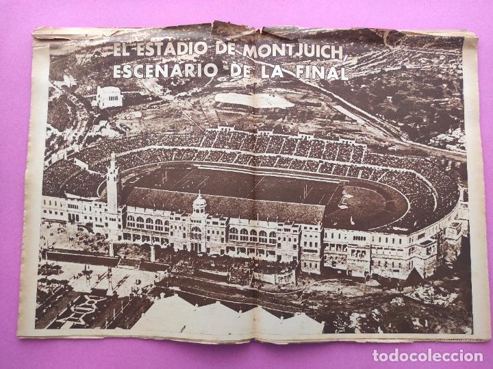 Coleccionismo deportivo: PERIODICO MARCA Nº 83 ATHLETIC CLUB BILBAO CAMPEON COPA GENERALISIMO 43/44 - VALENCIA 1943/1944 - Foto 6 - 275131583