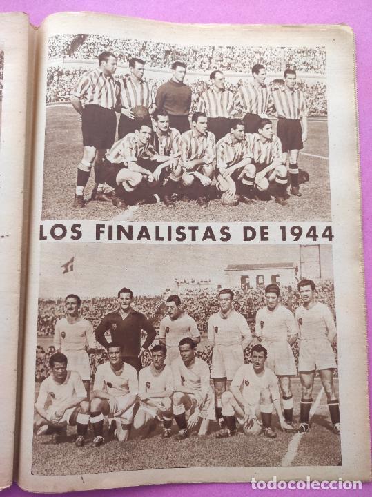 Coleccionismo deportivo: PERIODICO MARCA Nº 83 ATHLETIC CLUB BILBAO CAMPEON COPA GENERALISIMO 43/44 - VALENCIA 1943/1944 - Foto 7 - 275131583