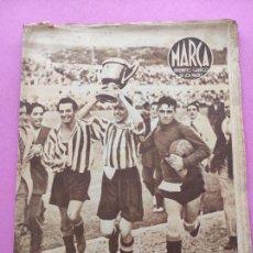 Coleccionismo deportivo: PERIODICO MARCA Nº 83 ATHLETIC CLUB BILBAO CAMPEON COPA GENERALISIMO 43/44 - VALENCIA 1943/1944. Lote 275131583