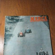 Coleccionismo deportivo: SEMANARIO MARCA N° 566. 1953. AT.MADRID 1 VALLADOLID 2 - LAS TIRADAS INTERNACIONALES DE TANGER. Lote 274863123