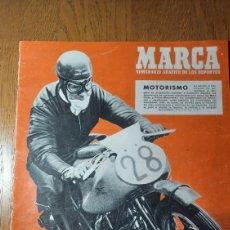 Coleccionismo deportivo: SEMANARIO MARCA N °573. 1953 . AT.MADRID 2 ATH.BILBAO 5 . BARCELONA 6 SANTANDER 0. JAEN 1 MADRID 2. Lote 274888263
