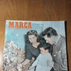 Coleccionismo deportivo: SEMANARIO MARCA N ° 577. 1953. AT.MADRID 2 SEVILLA 1- JAEN 2 OVIEDO 2.. Lote 275052058