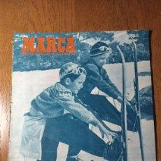 Coleccionismo deportivo: SEMANARIO MARCA N ° 580. 1954 . ESPAÑA 4 TURQUÍA 1. - AT.MADRID 2 ESPAÑOL 2. Lote 275059708