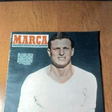 Coleccionismo deportivo: SEMANARIO MARCA N °587.1954 . R.MADRID 2 AT.MADRID 1- OSASUNA 1 BARCELONA 0. Lote 275107773