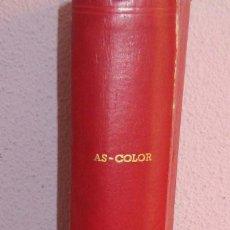 Coleccionismo deportivo: AS COLOR TOMO 1973 CON 28 REVISTAS CON SUS POSTERS TAPAS DE PASTA DURA. Lote 275513573