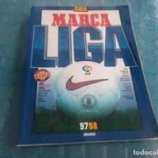 Coleccionismo deportivo: GUÍA MARCA LIGA 97-98 ANUARIO. Lote 275682203