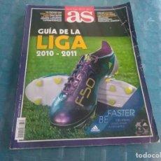 Coleccionismo deportivo: GUÍA DE LA LIGA 2010-2011 DE AS. Lote 275682553