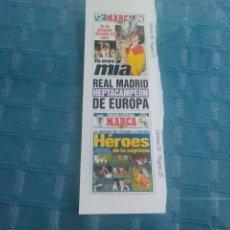 Coleccionismo deportivo: LAMINA MARCA AUTOADHESIVA, REAL MADRID. Lote 275687833