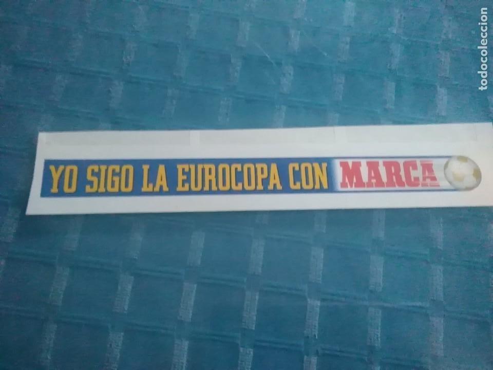 LAMINA MARCA AUTOADHESIVA, YO SIGO LA EUROCOPA CON MARCA (Coleccionismo Deportivo - Revistas y Periódicos - Marca)