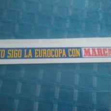 Coleccionismo deportivo: LAMINA MARCA AUTOADHESIVA, YO SIGO LA EUROCOPA CON MARCA. Lote 275688718