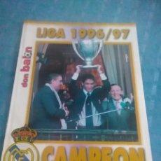 Coleccionismo deportivo: SUPLEMENTO DE DON BALÓN, LIGA 1996-97 CAMPEÓN REAL MADRID, PAG 23 A 42. Lote 275695333