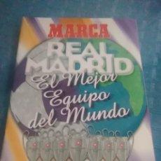 Coleccionismo deportivo: ÁLBUM MARCA REAL MADRID ,EL MEJOR EQUIPO DEL MUNDO, LOS 20 PARTIDOS DE LA LEYENDA BLANCA. Lote 275696508
