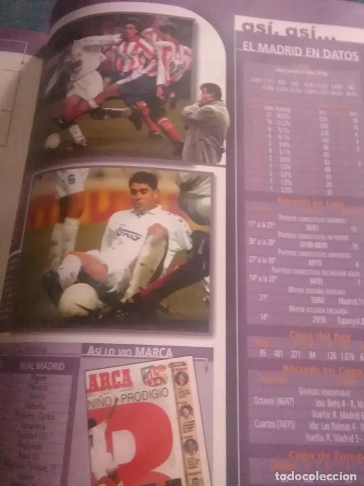 Coleccionismo deportivo: Álbum marca real Madrid ,el mejor equipo del mundo, los 20 partidos de la leyenda blanca - Foto 2 - 275696508
