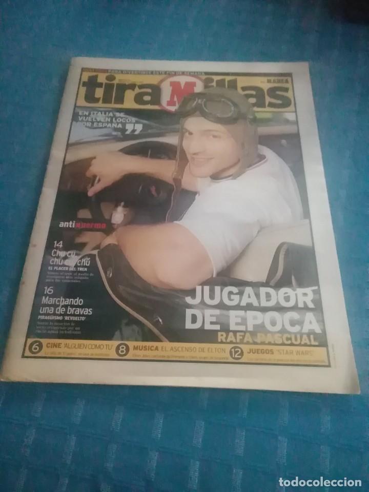 PERIÓDICO MARCA,TIRA MILLAS,JUGADOR DE ÉPOCA,RAFA PASCUAL,NUMERO 14,VIERNES 18 JUNIO DE 1999 PAGS 26 (Coleccionismo Deportivo - Revistas y Periódicos - Marca)
