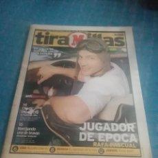 Coleccionismo deportivo: PERIÓDICO MARCA,TIRA MILLAS,JUGADOR DE ÉPOCA,RAFA PASCUAL,NUMERO 14,VIERNES 18 JUNIO DE 1999 PAGS 26. Lote 275698818