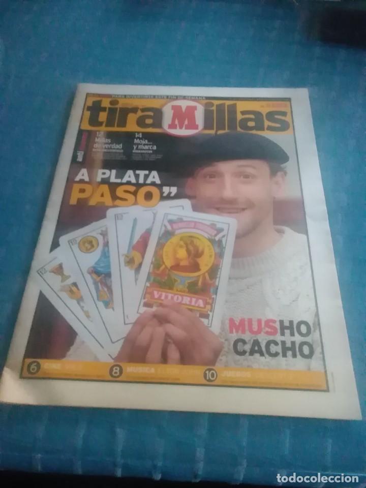 PERIÓDICO MARCA,TIRA MILLAS,JUGADOR DE ÉPOCA,A PLATA PASO,NUMERO 19,VIERNES 23 JULIO DE 1999 PAGS 26 (Coleccionismo Deportivo - Revistas y Periódicos - Marca)