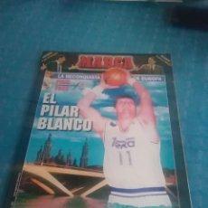 Coleccionismo deportivo: SUPLEMENTO LA RECONQUISTA DE EUROPA ,EL PILAR BLANCO, FINAL FOUR , MARCA,11 ABRIL 1995,. Lote 275701203