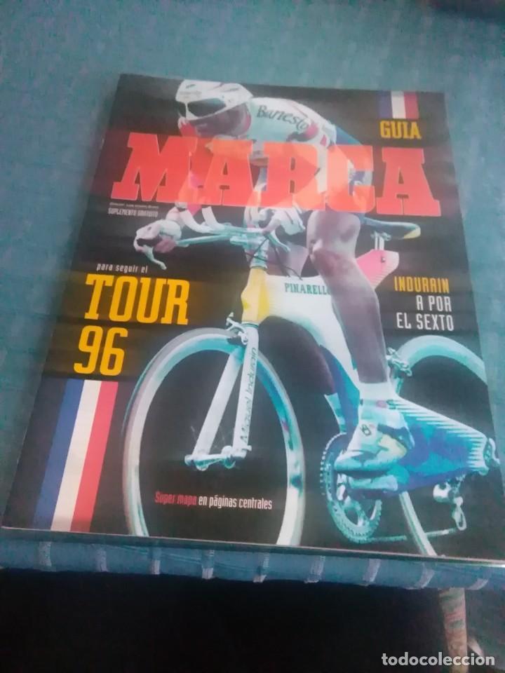 SUPLEMENTO GUÍA MARCA INDURAIN A POR EL SEXTO, TOUR 96 (Coleccionismo Deportivo - Revistas y Periódicos - Marca)