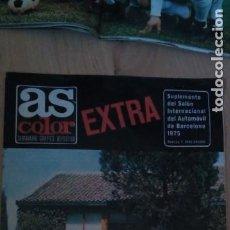 Collectionnisme sportif: AS COLOR EXTRA SALON DEL AUTOMOVIL DE BARCELONA 1975 SEAT 131. Lote 275839958