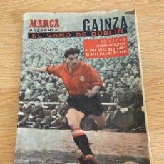 Coleccionismo deportivo: REVISTA MARCA EL GAMO DE DUBLIN GAINZA 4 PTAS. Lote 276338368