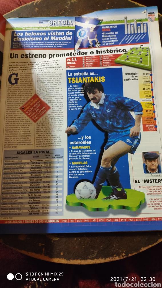 Coleccionismo deportivo: MARCA: LA GRAN FIESTA DEL SUPERFUTBOL, GUÍA MUNDIAL DE FUTBOL USA 94 - Foto 2 - 277095988