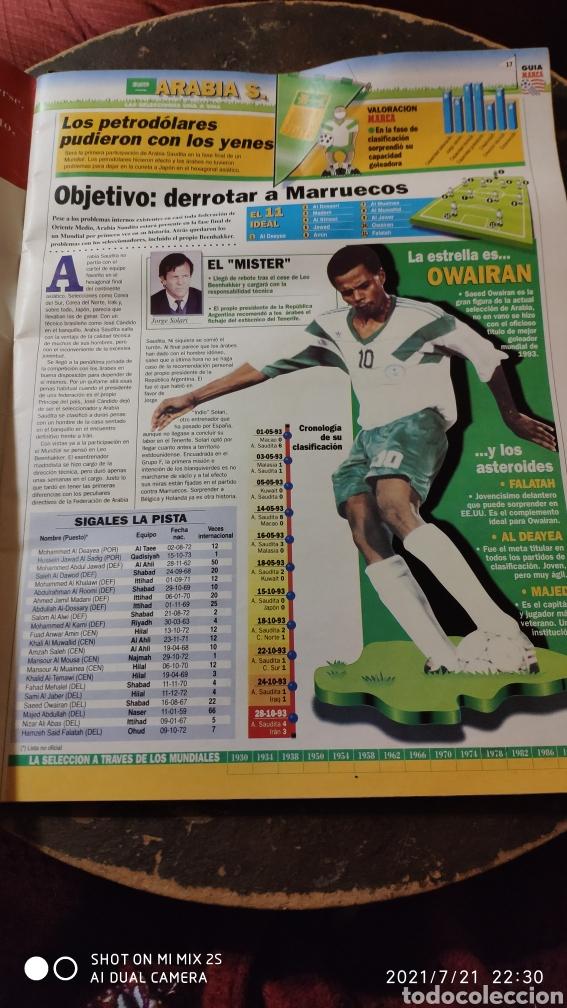 Coleccionismo deportivo: MARCA: LA GRAN FIESTA DEL SUPERFUTBOL, GUÍA MUNDIAL DE FUTBOL USA 94 - Foto 3 - 277095988