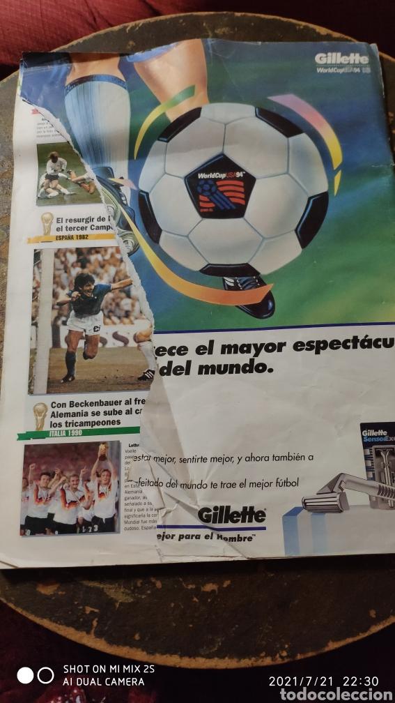Coleccionismo deportivo: MARCA: LA GRAN FIESTA DEL SUPERFUTBOL, GUÍA MUNDIAL DE FUTBOL USA 94 - Foto 4 - 277095988