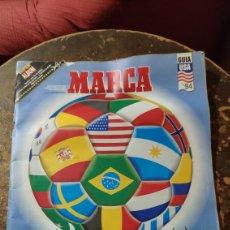 Coleccionismo deportivo: MARCA: LA GRAN FIESTA DEL SUPERFUTBOL, GUÍA MUNDIAL DE FUTBOL USA '94. Lote 277095988