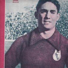 Coleccionismo deportivo: BAÑON JUGADOR DEL MADRID EL MURCIA DERROTA AL VALENCIA JOSÉ SAMITIER ENTRENADOR DEL BARCELONA. Lote 277173533