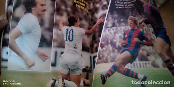 Coleccionismo deportivo: Fútbol don balón 112 - Cruyff - Pirri - Rayo - Athletic - Madrid - Barcelona - Argentina 78 - marca - Foto 2 - 277218993