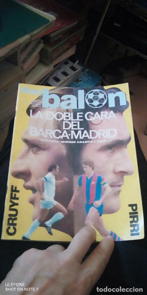 FÚTBOL DON BALÓN 112 - CRUYFF - PIRRI - RAYO - ATHLETIC - MADRID - BARCELONA - ARGENTINA 78 - MARCA (Coleccionismo Deportivo - Revistas y Periódicos - Don Balón)