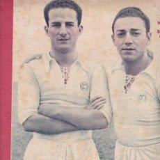 Coleccionismo deportivo: VIDAL Y BORBOLLA JUGADORES DEL REAL MADRID 4-1 EL MADRID VENCE AL OVIEDO EL SABADELL Y VALENCIA EMPA. Lote 277219133