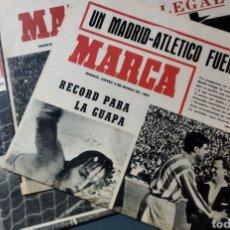 Coleccionismo deportivo: LOTE DE 3 SUPLEMENTOS DEL DIARIO MARCA AÑOS 64-65. Lote 277303743